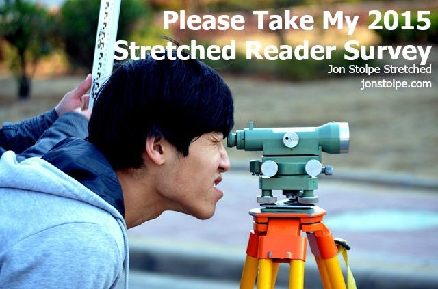 stretched reader survey