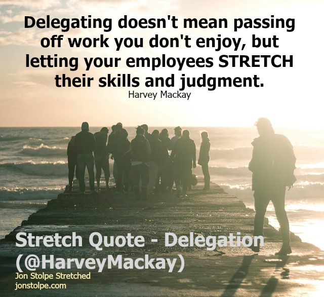 delegation stretch quote