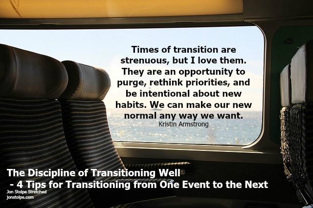 discipline transition