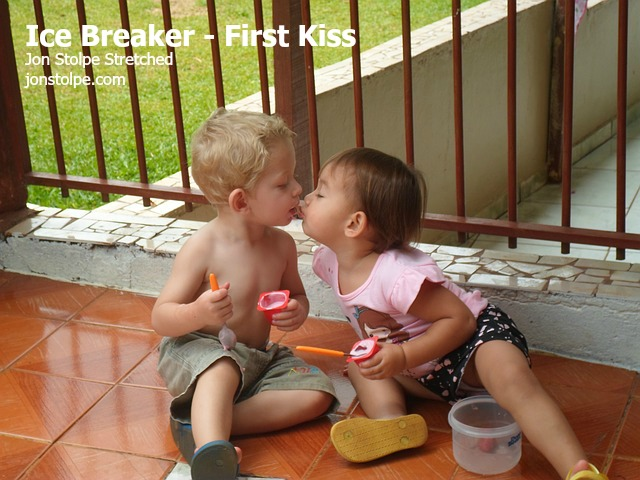 first kiss ice breaker