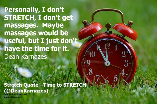 stretch quote time to stretch