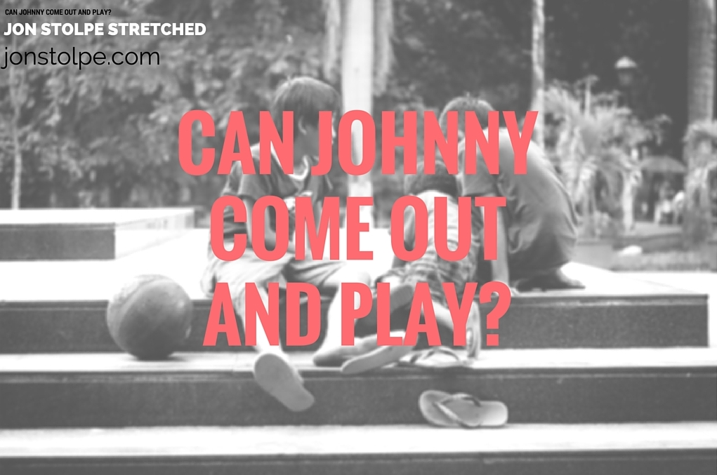 CAN JOHNNYCOME OUTAND PLAY_