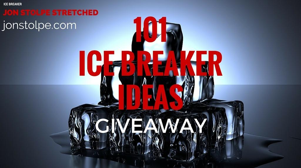 101 ICE BREAKER IDEAS