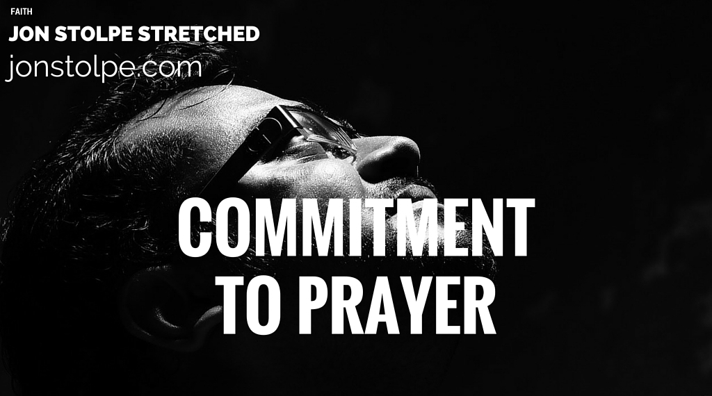 COMMITMENT TO PRAYER