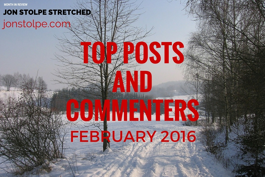 TOP POSTS AND COMMENTERS February 2016