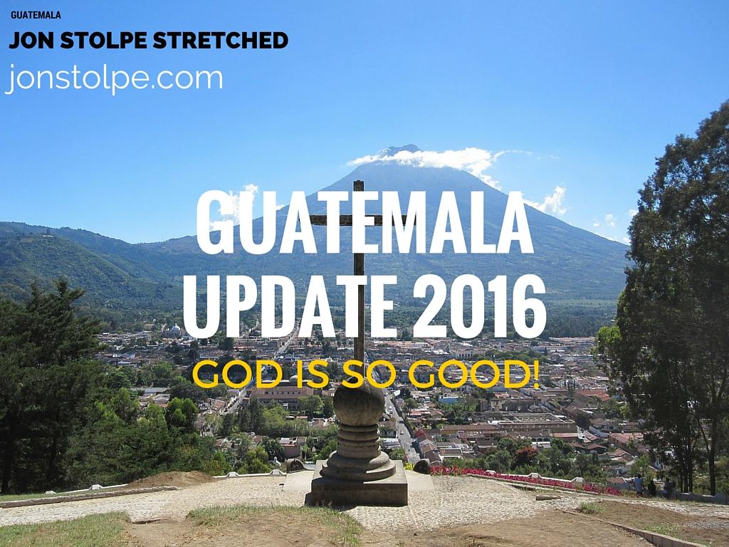 GUATEMALA UPDATE 2016