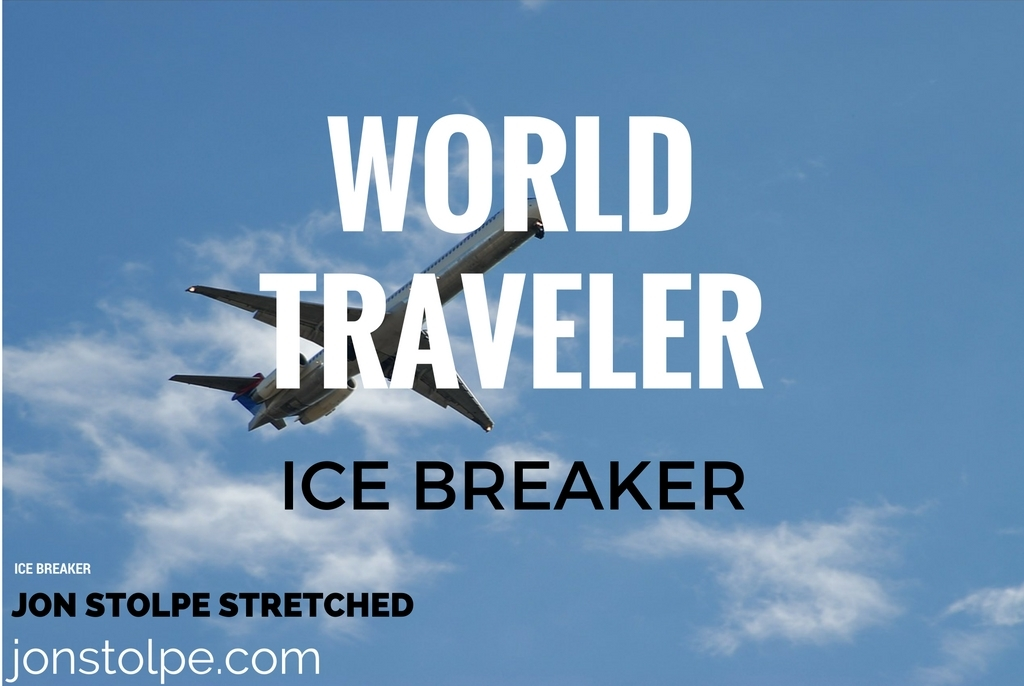 WORLD TRAVELER Ice Breaker